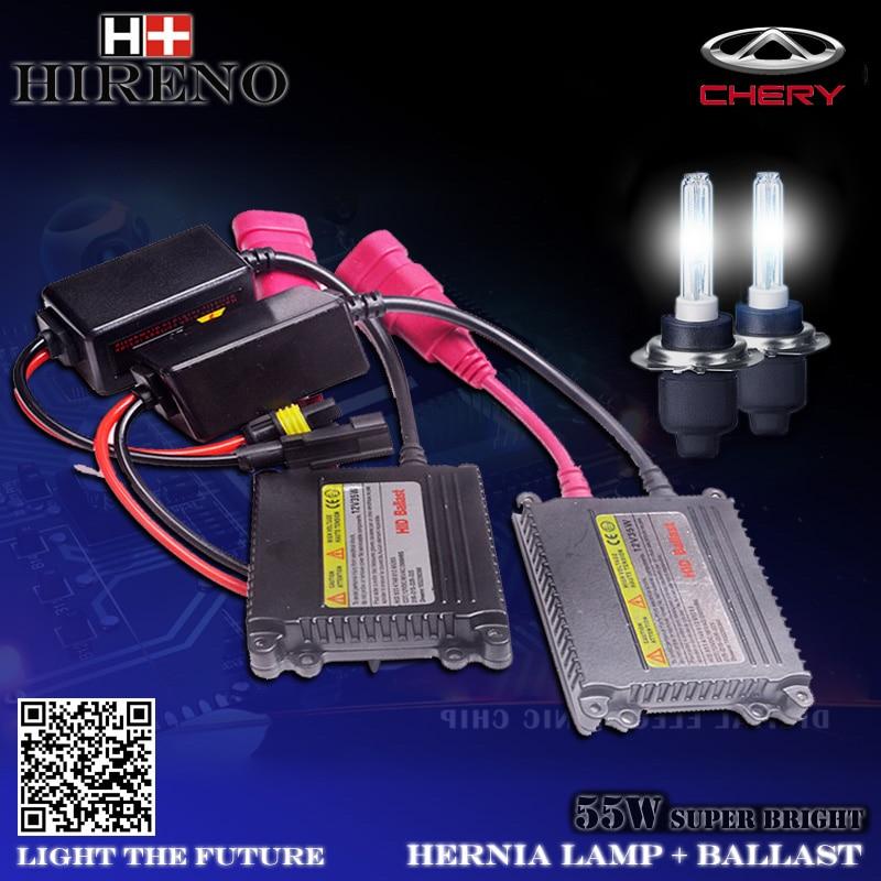 Slim Ballast Car light source Headlight bulbs lamp Xenon Hid Kit For Chery Cowin QQ A1 A3 A5 E3 E5 Eastar Tiggo E5 Fulwin ARRIZO от Aliexpress INT