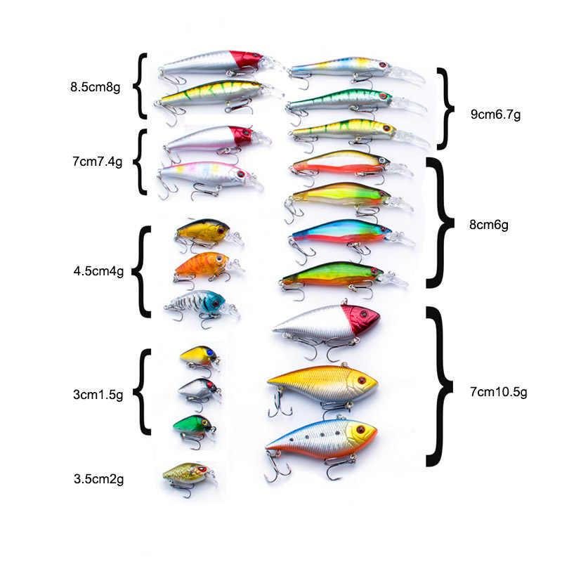 Промо-акция! 1 шт. гольян приманка для морской рыбалки снасти Рыболовный набор твердая приманка с крючком воблер пластиковая приманка рыболовная Кормушка рыболовная приманка