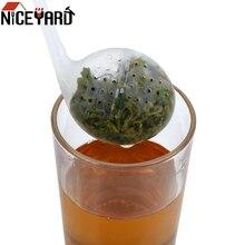 NICEYARD Creative Cute Plastic Empty Tea Bags Tea Strainer F