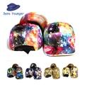 New Fashion 5 Panel Galaxy Baseball Cap for Women Men Space Pattern Print Snapback snap back Unisex Hip Hop Peak Hats gorra