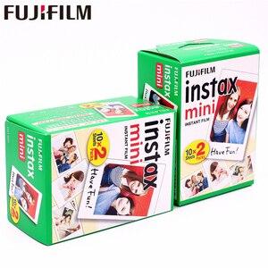 Image 1 - פוג י Instax מיני לבן סרטי 40 גיליונות נייר צילום מיידי עבור Fujifilm Instax מיני 9 8 11 7s 7 25 50s 90 70 SP 1 SP 2 מצלמה