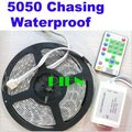 Chasing magic 5050 RGB LED Strip fita de luz dream Color 270LED 5M waterproof 81 Program with RF Controller Free Shipping 1 set