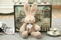 Karikatür Lovey Bunny Dolması Tavşan Cut Peluş Yumuşak Oyuncaklar Promosyon Uzun Kulaklar Ile Tavşan Bebek Tavşan Peluş Oyuncak Yatıştırmak Tavşan