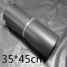 35*45cm Courier Bags Sliver Express Bag Poly Mailer Mailing Bag Envelope Self Adhesive Seal Plastic Bag(China)