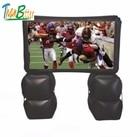 16: 9 большой быстрый надувной экран кино  легко настроить надувной мобильный экран на открытом возд ①