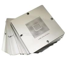 80MM 90MM Direct Heat graphics card Stencils 184pcs for INTEL/ NVIDIA/ ATI Video chips for BGA Reballing