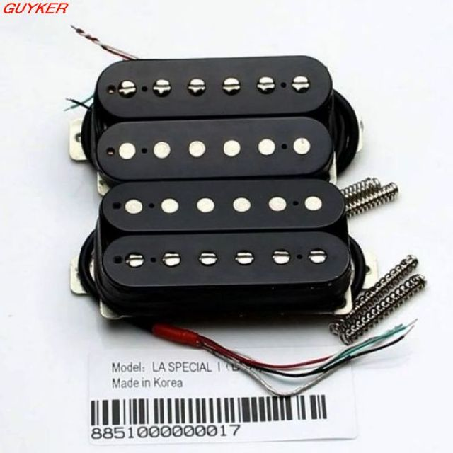 US $70 47 8% OFF|High grade LA Special electric guitar pickups Humbucker  Parts double block double line single cut five pickup-in Guitar Parts &