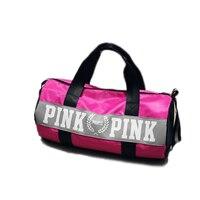 Outdoor Cylinder Single Sports Shoulder Bag Gym Bags Women S Travel Fitness Handbag Waterproof Luggage Yoga
