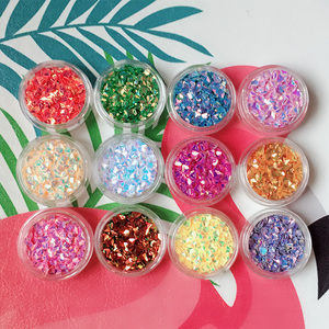 DIY Bling 3D Diamond Slime Mini Colorful Beads Assorted Colors Polystyrene Styrofoam Filler Foam Beads Sequin Crafts(China)