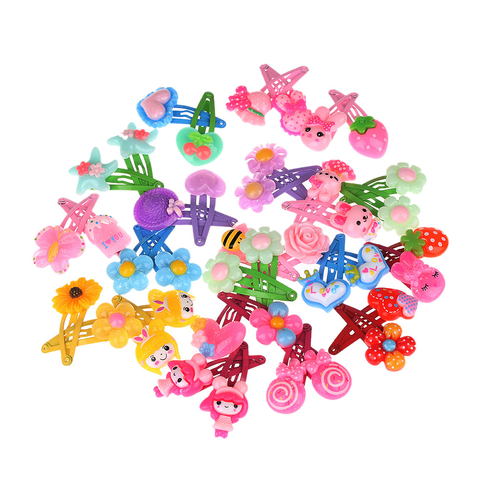 HTB1pLHiRXXXXXb4XFXXq6xXFXXXN 12-Pieces Mix Colorful Fruit Flower Star Animal Fish Ribbon Heart Candy Hair Accessories For Girls
