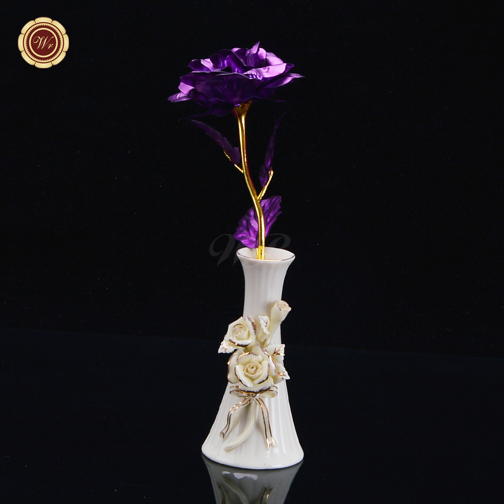 Aliexpress Com Buy Wr Romantic Rose 24k Gold Dipped: Online Buy Wholesale Valentine Box Ideas From China