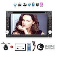 2din автомобильный dvd радио GPS навигация Bluetooth 2 DIN универсальный для x trail Qashqai Juke для nissan стерео радио головное устройство USB/SD