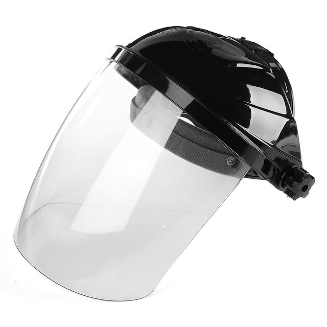 47b0c39b New Transparent Lens Anti-UV Anti-shock Welding Helmet Face Shield Solder Mask  Face