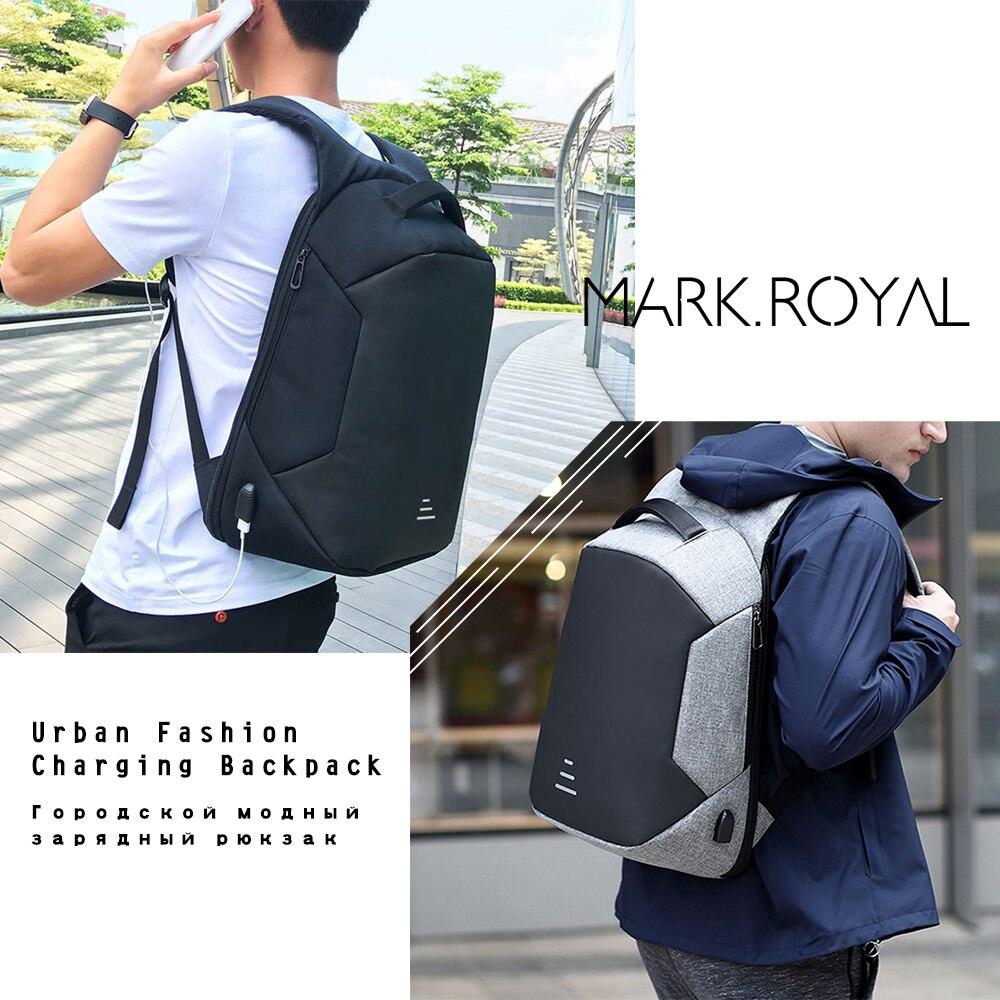 Men Backpack Anti-theft 15.6 Inch Laptop USB School Bag Large Urban Waterproof