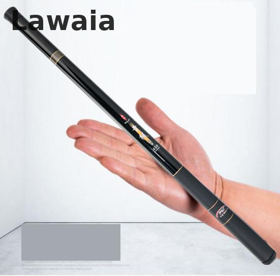 Lawaia Fishing Rod 40cm Stream Rod 3.6 Meters Ultra-short Super Hard Crucible Carpets Glass Fiber Reinforced Plastic Ultra-short point break pq 4c wd high quality elastic rod cork handle portable rod strong sensitive sea rod fishing gear fast transport