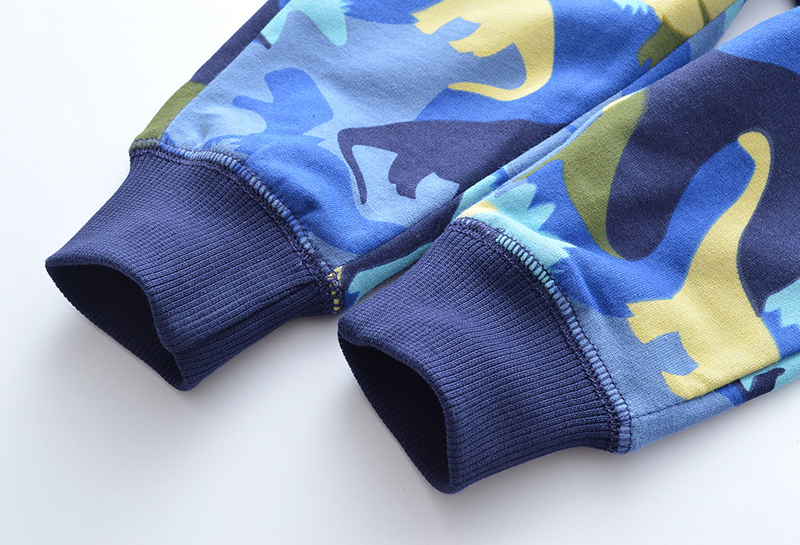 SAILEROAD Dinosaur Pattern Winter Pants for Boys Fall Children Sport Pants for Kids Clothes Baby Boys Sweaterpants for 6 Years 5