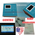 MS200 NIBP USA CE CONTEC MS200 NIBP Simulator Dynamic Blood Pressure Simulator,LCD Display