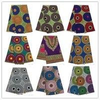100% cotton fabric new design african wax fabric for wedding dress ankara african wax print fabric 804