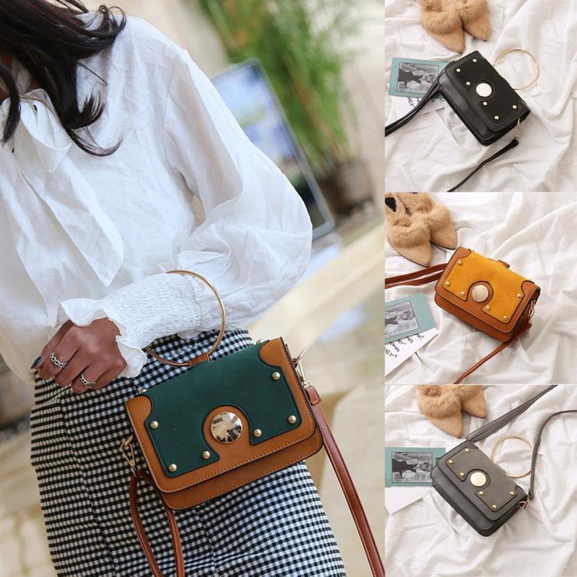 Molave Shoulder Bag new high quality Fashion Frosted Style Patchwork Handbag Crossbody Bags shoulder bag women MAR6