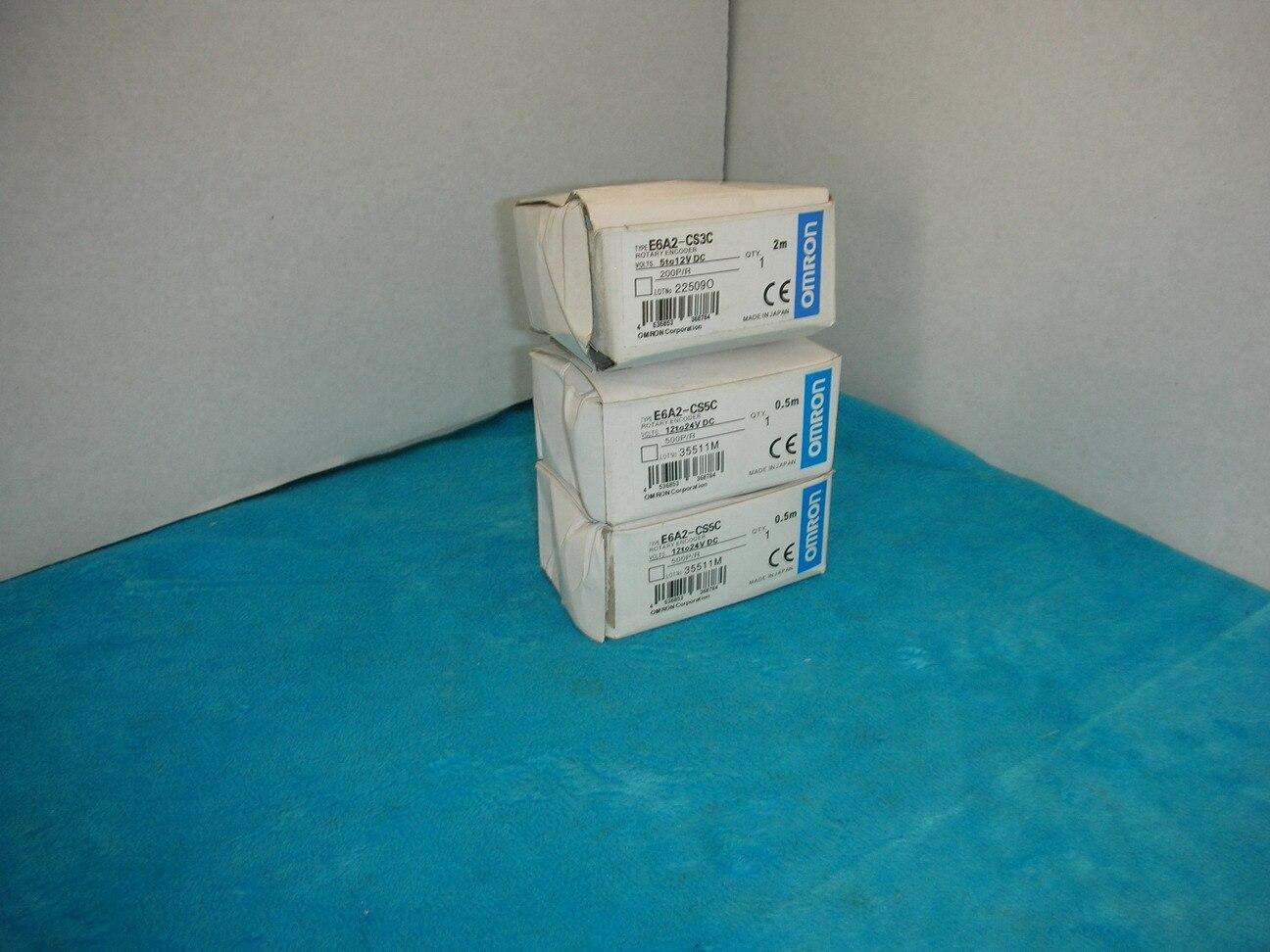 OMRON encoder 200P/R E6A2-CS3C free shipping e6a2 cs5c 60p r rotary encoder new e6a2cs5c 60p r inc 12 24vdc open a phase e6a2 cs5c 60p r