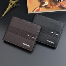 Mens Wallet Men Wallets Fashion with Coin Bag Zipper Small Money Purses Dollar Slim Purse Money Clip Wallet Buckle wholesale 403