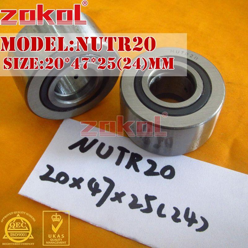ZOKOL NUTR20 Bearing Roller Cam Follower Bearing 20*47*25mm