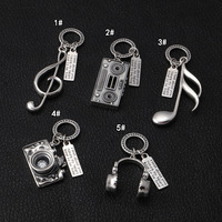 Manufacturers Wholesale S925 Sterling Silver Fashion Camera Notes Headset Radio Men And Women Retro Thai Silver Wild Pendant