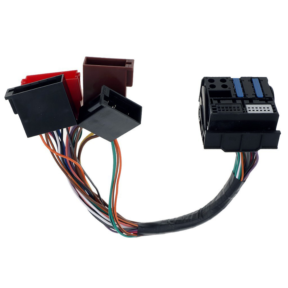 Audi Wiring Harness Connectors Diagram Services Car Stereo Radio Iso Standard Connector Adapter Plug Rh Aliexpress Com Ford Terminals And