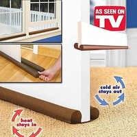 Home decoration accessories modern 80cm Door Windows Protector Dust Proof Wind Gap Blocker Stop Twin Draft Resisted Sash Stopper