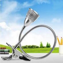 Flexible 50cm Tube Led Desk lamp 3*3W Reading Book Light White Warm WhiteTable Lamp luminaria de mesa Lighting