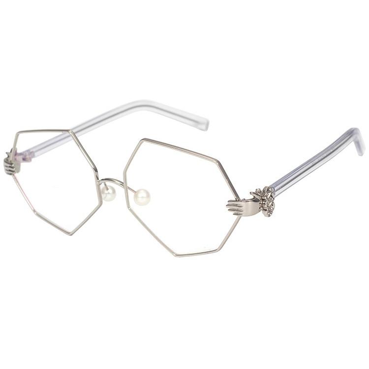 2017 GUVIVI Perle Nose Pad brille brillengestell Frauen ...