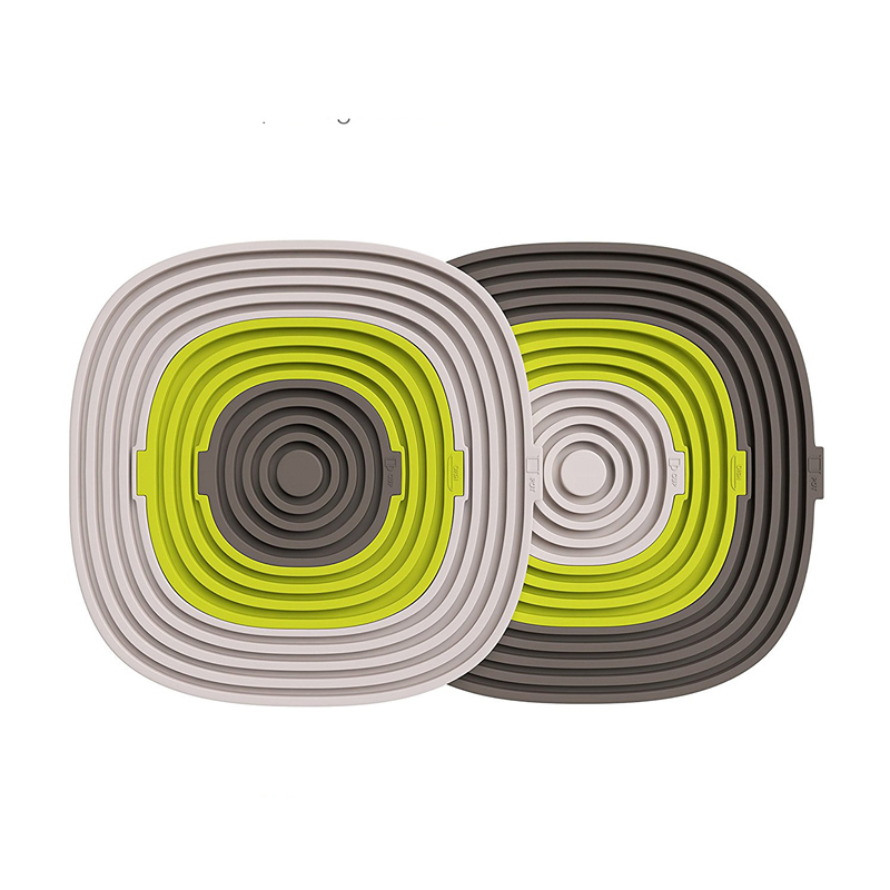 2017 Tea Cup Drinks Holder Mat Placemat Pads placemats for dining table heat resistant mat diameter 7.8*12.8*19.5cm 3 pcs/set