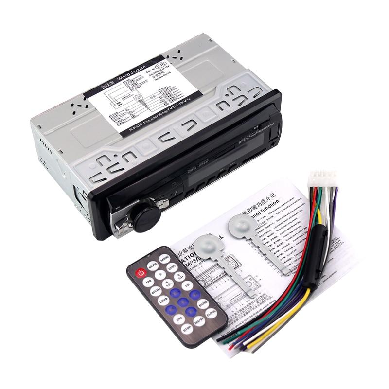 24V Car Radio Car Stereo Bluetooth JSD520  In-dash 1 Din FM Aux Input Receiver SD USB MP3 ISO Connector autoradio oto teypleri