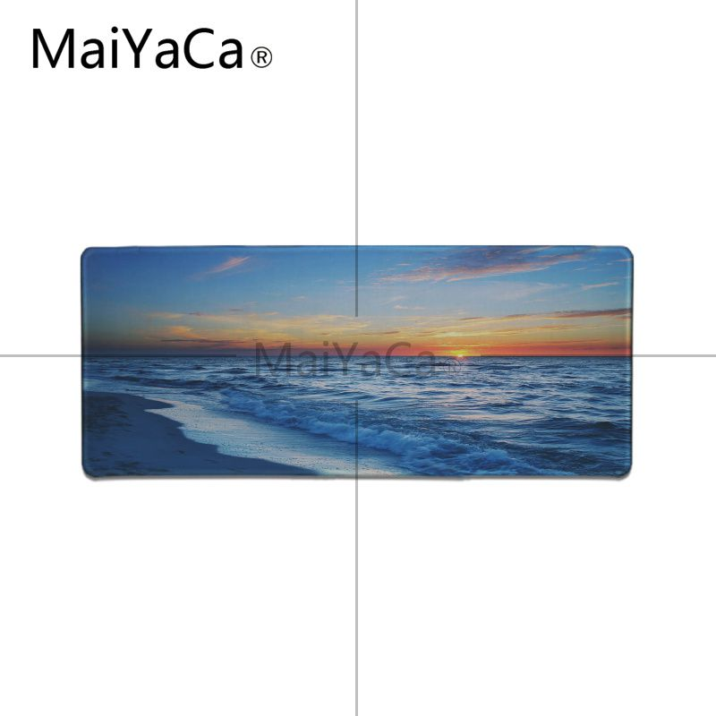 MaiYaCa In Stocked Landscape sunset High Speed New Mousepad Large Gaming Mouse Pad Anti-slip Perfect Locking Computer desk mat