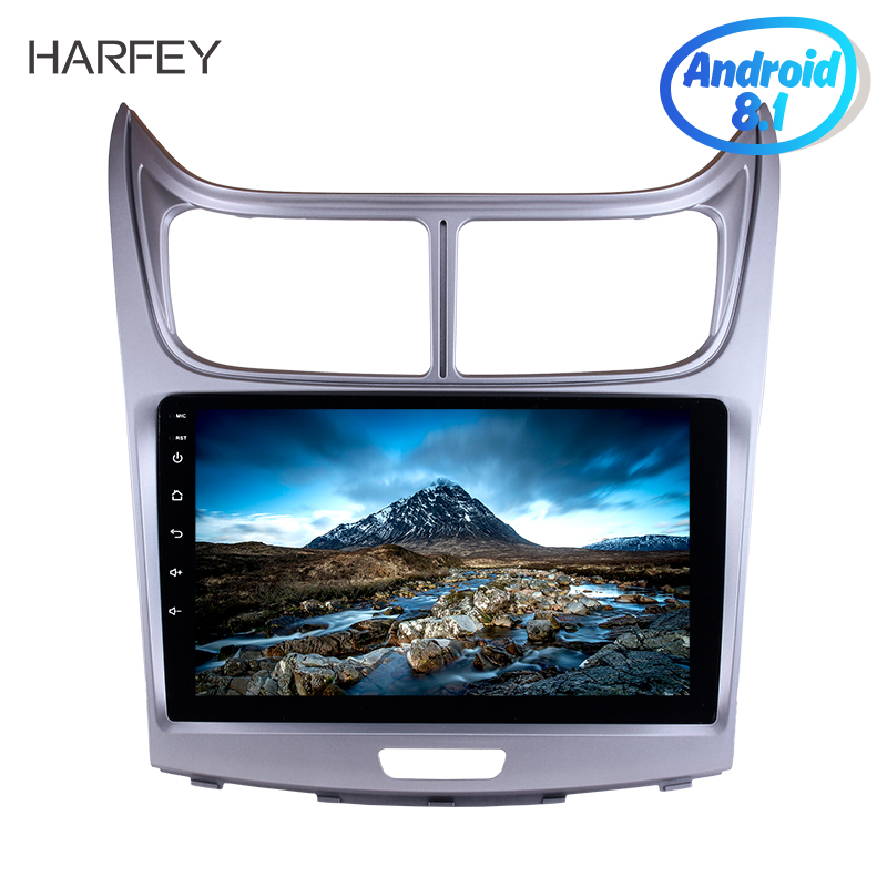 Harfey HD 1080P 9 Touchscreen GPS Head Unit 2din Android 8 1 Car Radio For 2010