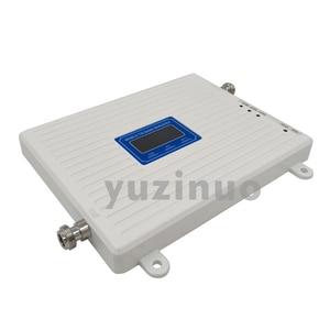 Image 2 - 65dB Tăng Màn Hình Hiển Thị LCD 2G 3G 4G Ba Dây Tăng Áp GSM 900 + DCS/LTE 1800 + FDD LTE 2600 Điện Thoại Di Động Lặp Tín Hiệu Khuếch Đại