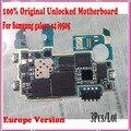 3 pçs/lote i9505 mainboard, 100% europa versão desbloqueado originais para samsung galaxy s4 i9505 motherboard com batatas fritas, frete grátis,