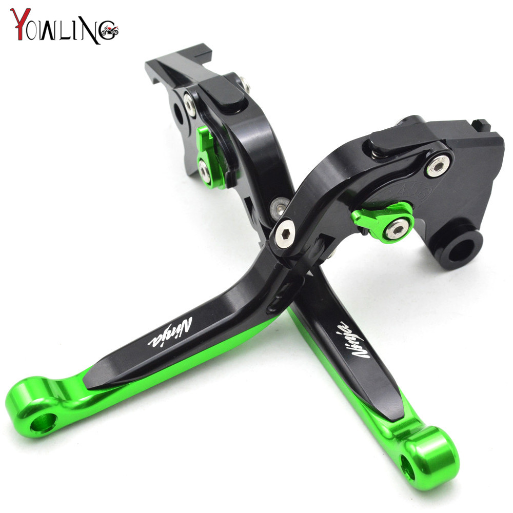 Motorcycle CNC Pivot Brake Clutch Levers Adjustable foldable Levers For KAWASAKI Ninja 300 ABS NINJA 300R 2012 2013 2014 2015 отсутствует энергетика и промышленность россии 3 2013