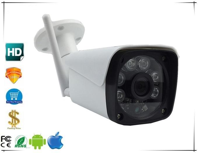WIFI Wireless IP Bullet Camera StarLight Sony IMX291 H 265 H 264 3 0MP 1080P IP66