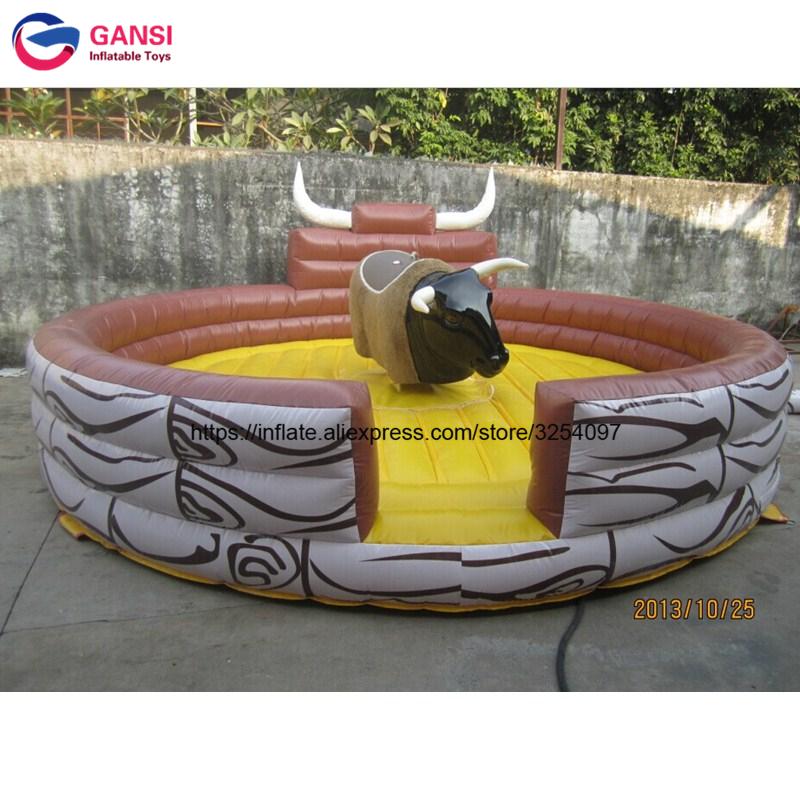 inflatable mechnical bull mat09