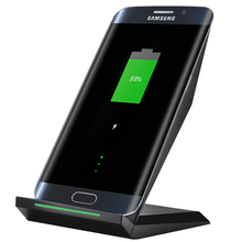 New Qi Wireless Charger for Samsung Galaxy S7 Edge S7 Fast Charger Dock Desktop Wireless Charging for Samsung S6 S6 Edge Note 5