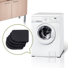 Anti-vibration Pad High Quality Washing Machine Shock Pads Non-slip Mats Refrigerator Anti-vibration Noise Washer Shock Slip Mat 8pcs furniture chair desk feet protection pads eva rubber washing machine shock non slip mats anti vibration noise