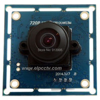 720P Hd Mini MJPEG 170 Degee Wide Angle Fisheye Free Driver Usb Camera Board For Android