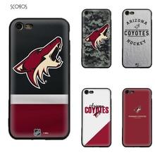 b52ccb85d11178 SCOZOS Arizona Coyotes For Iphone 5 5S Se 6 7 8 6S Plus 7 Plus 8 Plus X Xr  Xs Max