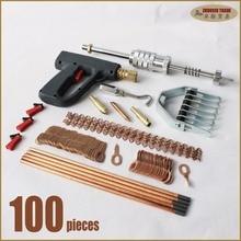 Auto spotter línea extractor kit soldador espárrago de soldadura del cuerpo de coche panel dent removal tool garaje de chapa de soldadura de reparación de herramientas de mano