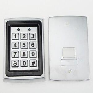 Image 5 - Kim loại RFID Truy Cập Bàn Phím Điều Khiển 125 Khz Độc Lập Bộ Điều Khiển Truy Cập có Vỏ Chống Nước + 10 chiếc Keyfobs Thẻ RFID