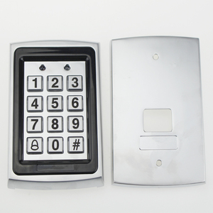 Image 5 - RFID in metallo Tastiera di Controllo di Accesso 125 KHz Controller di Accesso Autonomo con Impermeabile Della Copertura di Caso Della protezione + 10 pcs Portachiavi RFID Carte