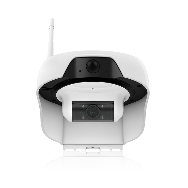 FREECAM Wireless Solar Powered HD WiFi Camera Home Security System ...