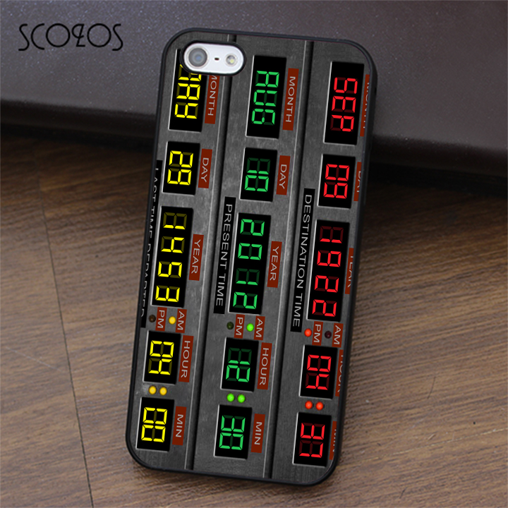 SCOZOS Time Circuits Back to the Future phone case for iphone X 4 4s 5 5s Se 5C 6 6s 7 8 6&6s plus 7 plus 8 plus #ea359 ...