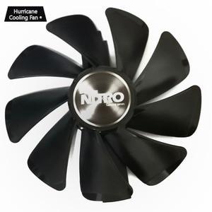 Image 3 - 95mm CF1015H12D Graphics Card Blue Led Cooler Fan for Sapphire NITRO RX480 RX470 RX580 RX570 RX590 RX 470 480 570 580 590 4G 8G